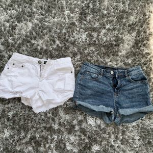 ALMOST NEW Aeropostale High Waisted Shorty Shorts